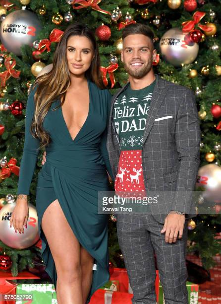Jessica Shears and Dom Lever attend the UK Premiere of 'Daddy's Home 2' at Vue West End on November 16 2017 in London England