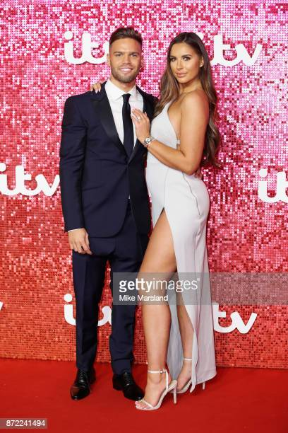 Jessica Shears and Dominic Lever arrive at the ITV Gala held at the London Palladium on November 9 2017 in London England