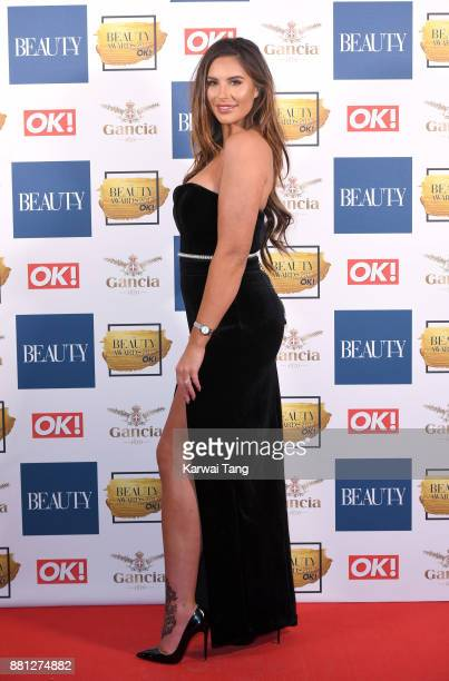 Jessica Shears attends The Beauty Awards at Tower of London on November 28 2017 in London England