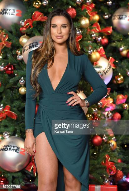 Jessica Shears attends the UK Premiere of 'Daddy's Home 2' at Vue West End on November 16 2017 in London England