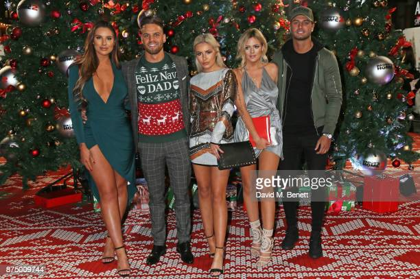 Jessica Shears Dom Lever Chyna Ellis Danielle Sellers and Mike Thalassitis attend the UK Premiere of 'Daddy's Home 2' at the Vue West End on November...