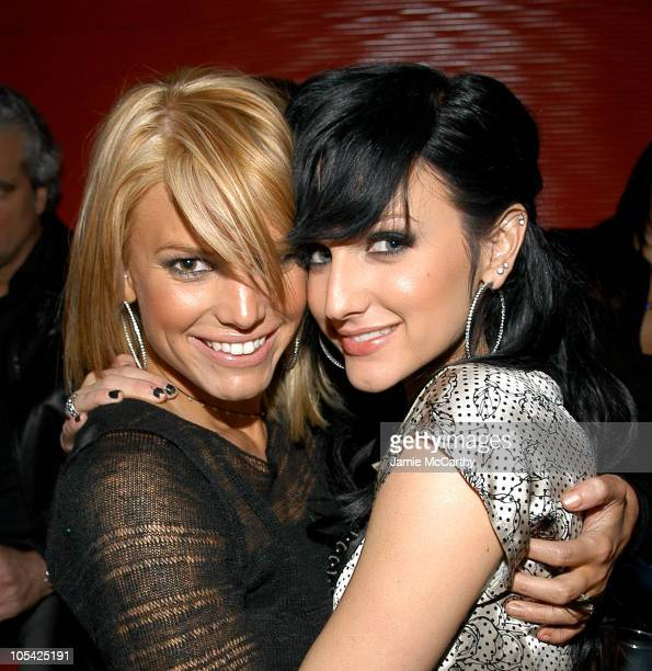 """Jessica Simpson and Ashlee Simpson during """"Guess Who"""" New York City Premiere - After Party at Marquee in New York City, New York, United States."""