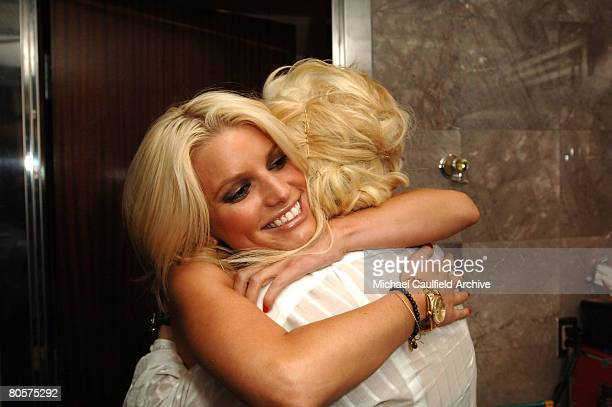 Jessica Simpson and Ashlee Simpson with the new rolex her sister gave her before going to PURE Nightclub