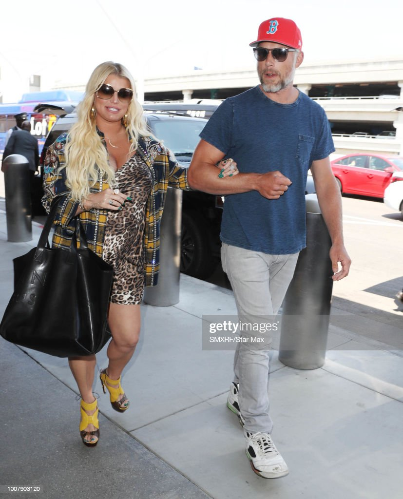 Celebrity Sightings in Los Angeles - July 30, 2018 : News Photo