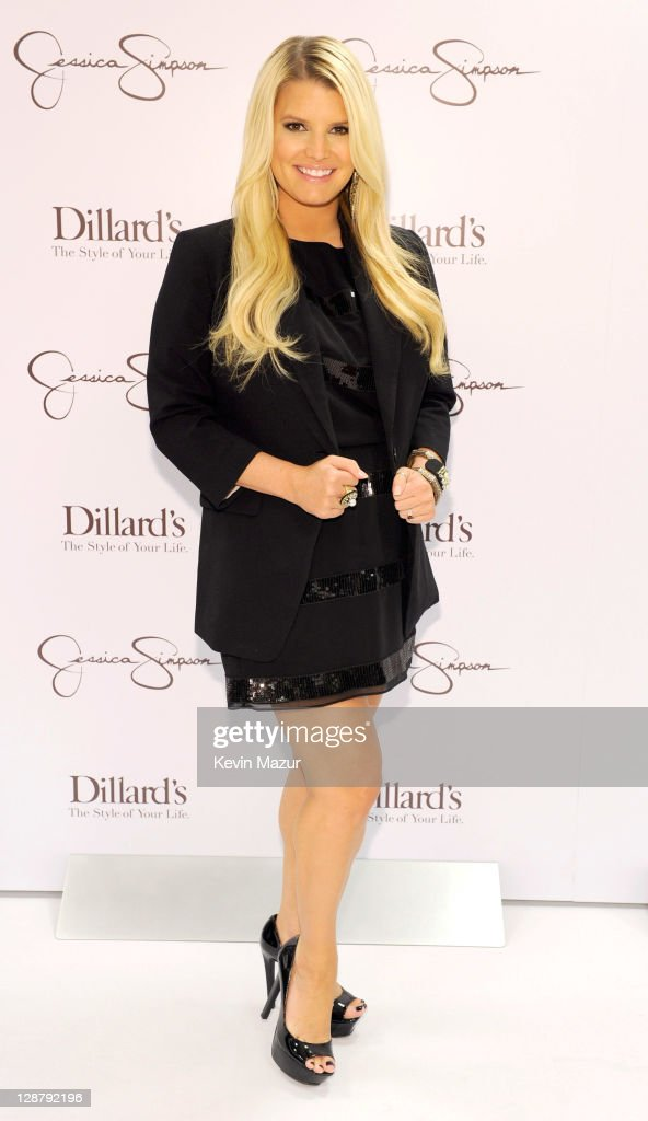 Jessica Simpson Celebrates The Launch Of Ready-To-Wear Jessica Simpson Collection at Dillard's, New Orleans
