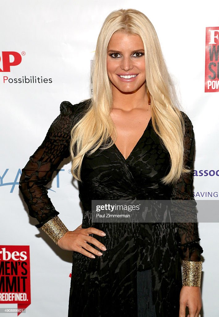 Jessica Simpson attends Forbes Women's Summit:The Entrepreneurship of Everything at 583 Park Avenue on May 15, 2014 in New York City.