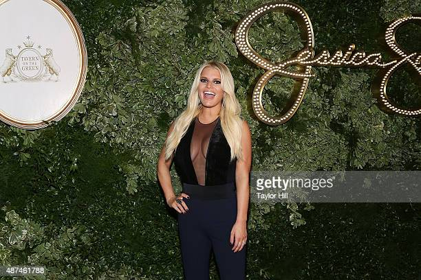 Jessica Simpson attends Jessica Simpson Collection - Presentation - Spring 2016 New York Fashion Week at Tavern on the Green on September 9, 2015 in...