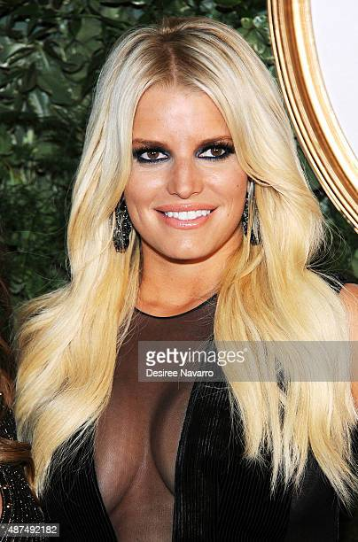 Jessica Simpson attends Jessica Simpson Collection Presentation Spring 2016 New York Fashion Week on September 9 2015 in New York City