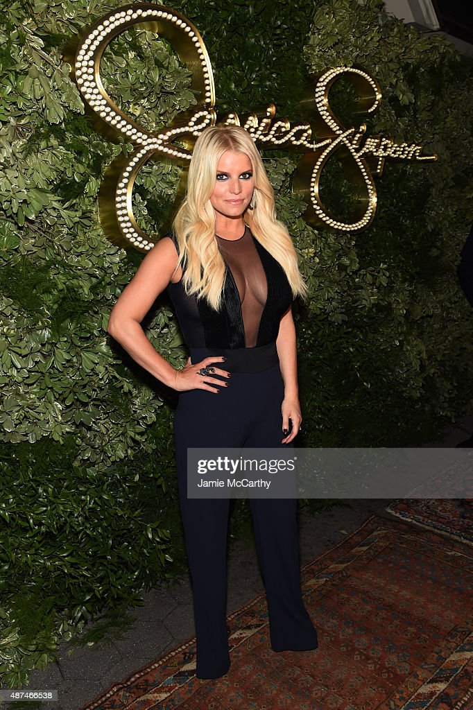 Jessica Simpson Celebrates The 10th Anniversary Of The Jessica Simpson Collection : News Photo