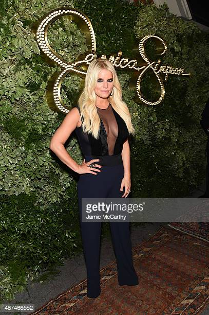 Jessica Simpson attends the 10th Anniversary Celebration of the Jessica Simpson Collection at Tavern on the Green on September 9 2015 in New York City