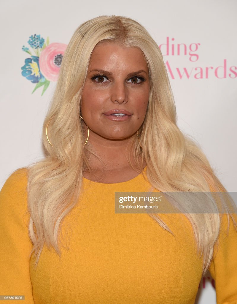 Jessica Simpson attends The 2018 Outstanding Mother Awards at The Pierre Hotel on May 11, 2018 in New York City.