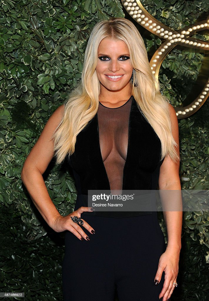Jessica Simpson Collection - Presentation - Spring 2016 New York Fashion Week