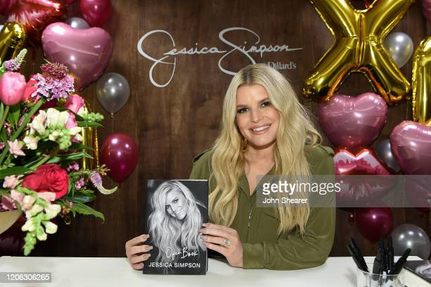 "Jessica Simpson celebrates New York Times best-selling memoir, ""Open Book"" at Dillard's CoolSprings on February 14, 2020 in Franklin, Tennessee."