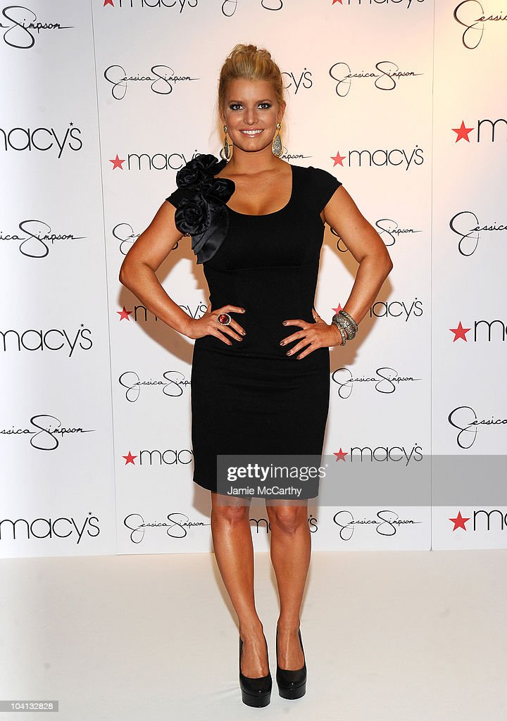 Find Your Magic at Macy's: Jessica Simpson Collection In-Store Appearance : News Photo