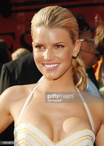 Jessica Simpson during 2005 ESPY Awards Arrivals at Kodak Theatre in Hollywood California United States