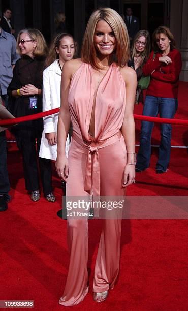 Jessica Simpson during 31st Annual American Music Awards Arrivals at Shrine Auditorium in Los Angeles California United States