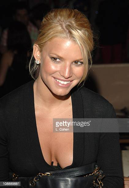 Jessica Simpson during Dom Perignon Karl Lagerfeld and Eva Herzigova Host an International Launch Event to Unveil the New Image of Dom Perignon Rose...