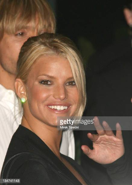 Jessica Simpson during Dom Perignon Rose Vintage 1996 Champagne by Karl Lagerfeld Launch Party at Private Residence Beverly Hills in Beverly Hills...