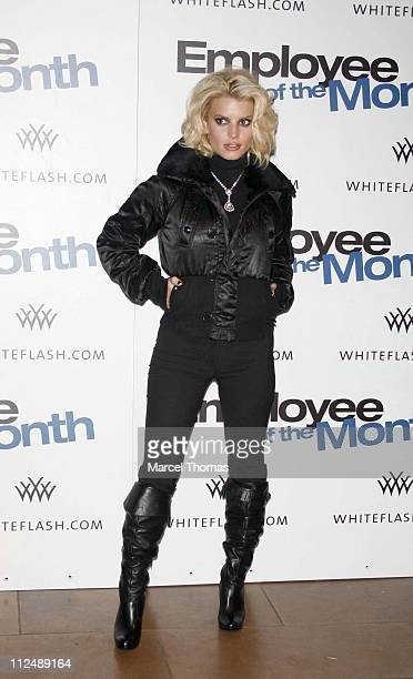 Jessica Simpson during 'Employee of the Month' Party at TenJune in New York City New York United States