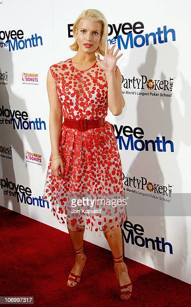 """Jessica Simpson during """"Employee of the Month"""" Premiere - Arrivals at Mann's Chinese Theatre in Hollywood, California, United States."""