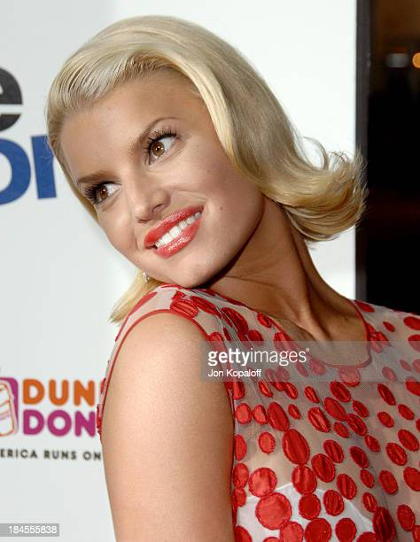 Jessica Simpson during Employee of the Month Premiere Arrivals at Mann's Chinese Theatre in Hollywood California United States