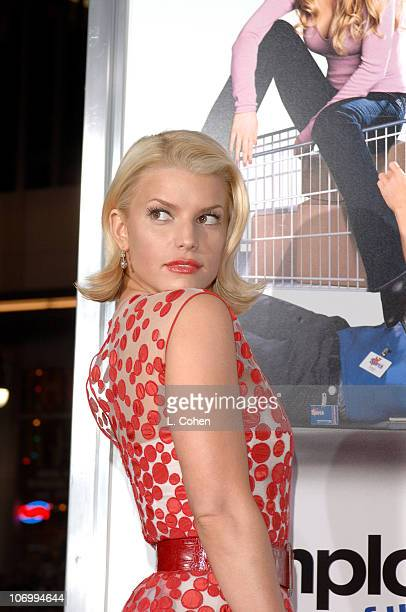 "Jessica Simpson during ""Employee of the Month"" Premiere - Red Carpet at Mann's Chinese Theater in Hollywood, California, United States."