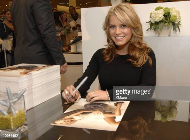 Jessica Simpson during Jessica Simpson Special Appearance to Promote Eponymous at Nordstrom at Garden State Plaza in Paramus New Jersey United States