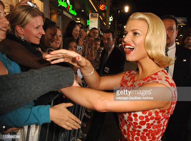 Jessica Simpson during LionsGate's Employee of the Month Los Angeles Premiere at Mann's Chinese Theater in Hollywood California United States