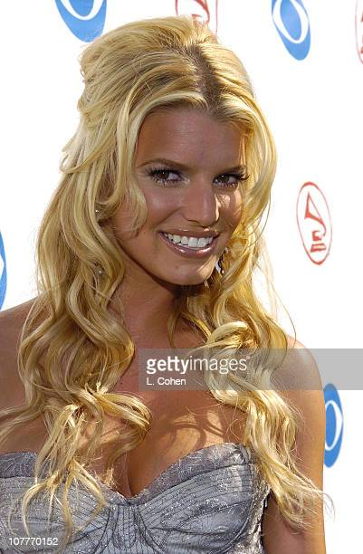 Jessica Simpson during The 5th Annual Latin GRAMMY Awards Green Carpet at Shrine Auditorium in Los Angeles California United States