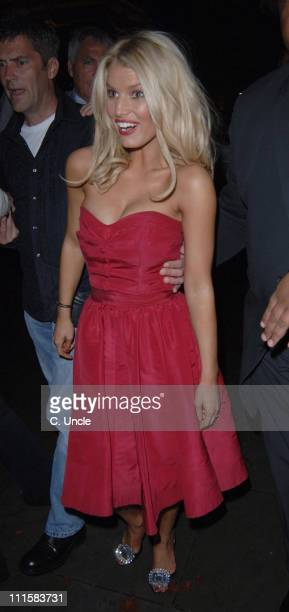 Jessica Simpson during 'The Dukes of Hazzard' London Premiere After Party at Texas Embassy Cantina in London United Kingdom