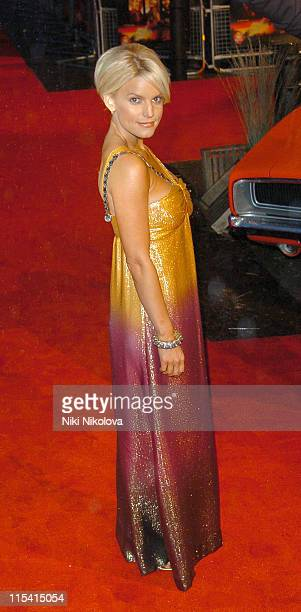 """Jessica Simpson during """"The Dukes of Hazzard"""" London Premiere - Arrivals at Vue Leicester Square in London, Great Britain."""
