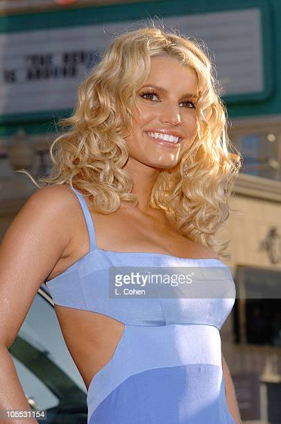 """Jessica Simpson during """"The Dukes of Hazzard"""" Los Angeles Premiere - Red Carpet at Grauman's Chinese Theatre in Los Angeles, California, United..."""