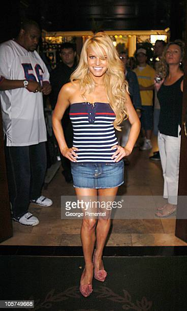 """Jessica Simpson during """"The Dukes of Hazzard"""" Toronto Press Conference at Windsor Arms Hotel in Toronto, Ontario, Canada."""