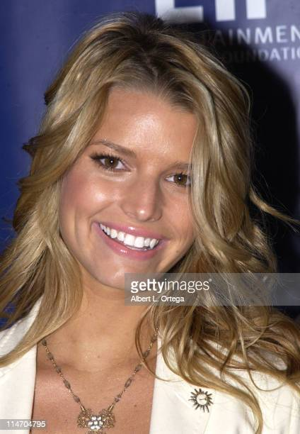 """Jessica Simpson during The Entertainment Industry Foundation and The American Legacy Foundation Join Forces To Host """"Women's Health 2003"""" Luncheon at..."""