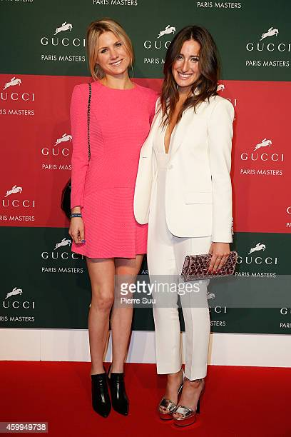 Jessica Springsteen and Hilary McNerney arrive at 'La Nuit des Masters' Gala as part of the Gucci Paris Masters 2014 on December 4 2014 in Villepinte...