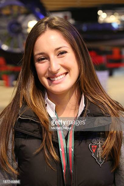 Jessica Springsteen attends the Gucci Paris Masters 2012 at Paris Nord Villepinte on November 30 2012 in Paris France