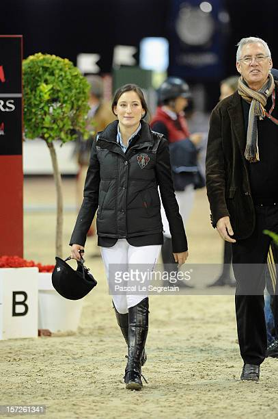 Jessica Springsteen attends the Gucci Paris Masters 2012 at Paris Nord Villepinte on December 1 2012 in Paris France