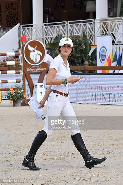 Jessica Springsteen attennds International Longines Global Champion Tour Day 3 on June 11 2016 in Cannes France