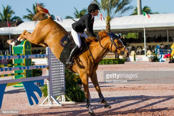 Jessica Springsteen during the $35000 Bainbridge 145M Classic at the Winter Equestrian Festival on March 30 2018 at The Palm Beach International...