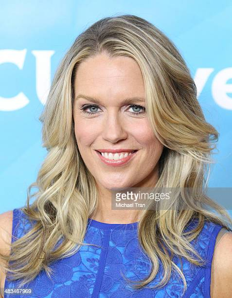 Jessica St. Clair arrives at the NBCUniversal's 2014 Summer Press Day held at Langham Hotel on April 8, 2014 in Pasadena, California.