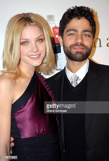 Jessica Stam and Adrian Grenier during Adrian Grenier and Jessica Stam Host a Charity Ball to Benefit African Well Projects at Metropolitan Pavilion...