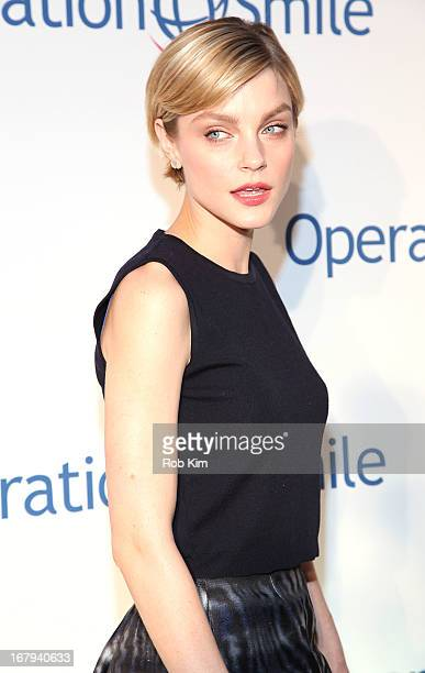Jessica Stam attends Operation Smile 30th Anniversary Celebration at Cipriani 42nd Street on May 2 2013 in New York City