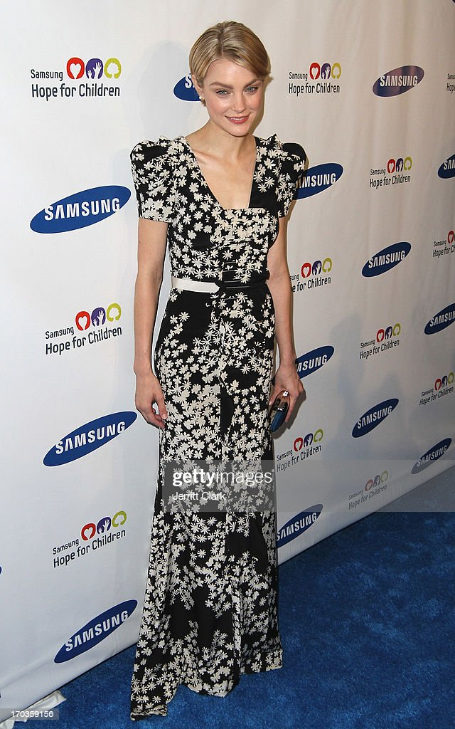 Jessica Stam attends Samsung Hope For Children 12th Annual Gala at Cipriani Wall Street on June 11, 2013 in New York City.