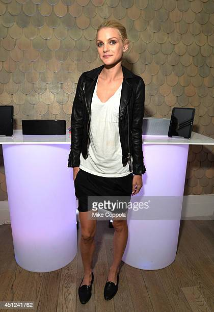 Jessica Stam attends Samsung Shape Summer Mix Series With Chromeo on June 25 2014 in New York City