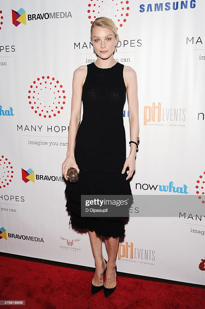 Jessica Stam attends the 4th Annual Discover Many Hopes Gala at The Angel Orensanz Foundation on June 4, 2015 in New York City.