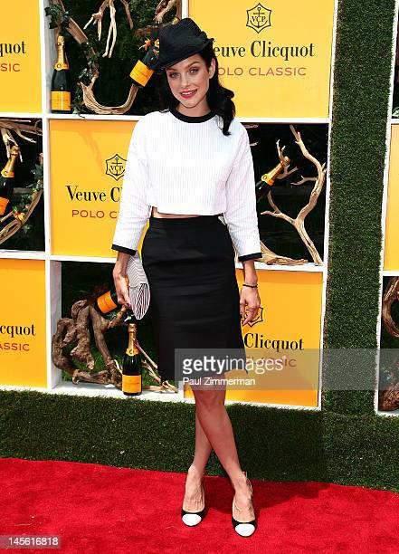 Jessica Stam attends the 5th annual Vevue Clicquot Polo Classic at Liberty State Park on June 2 2012 in Jersey City New Jersey