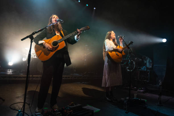 GBR: The Staves Perform At O2 Shepherd's Bush Empire