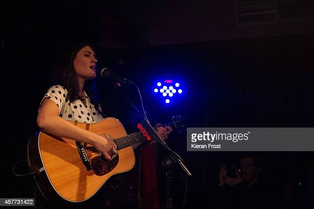 Jessica Staveley-Taylor of The Staves performs on stage at Whelan's on October 23, 2014 in Dublin, Ireland.