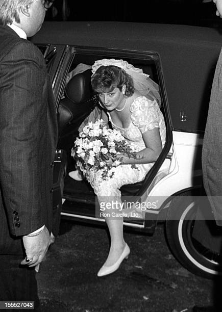 Jessica Steinbrenner attends Jessica SteinbrennerJoseph Malloy Wedding Ceremony on November 7 1987 at St Patrick's Cathedral in New York City