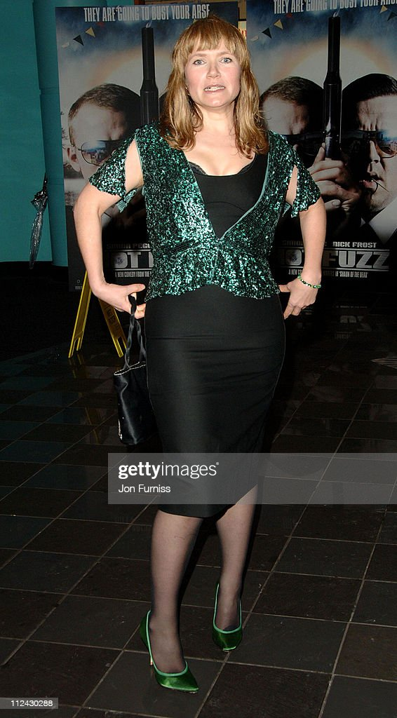 """Hot Fuzz"" - London Premiere - Inside Arrivals"